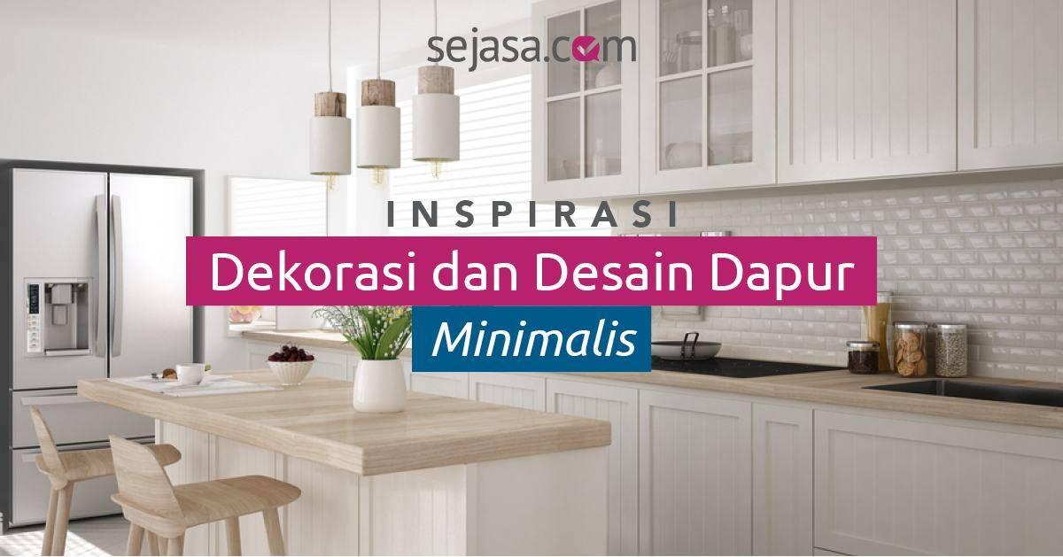 20 Trend Model Desain Dapur Minimalis Manis Dan Menawan