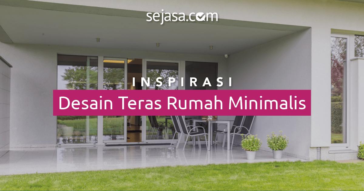 20 inspirasi desain teras rumah minimalis sederhana