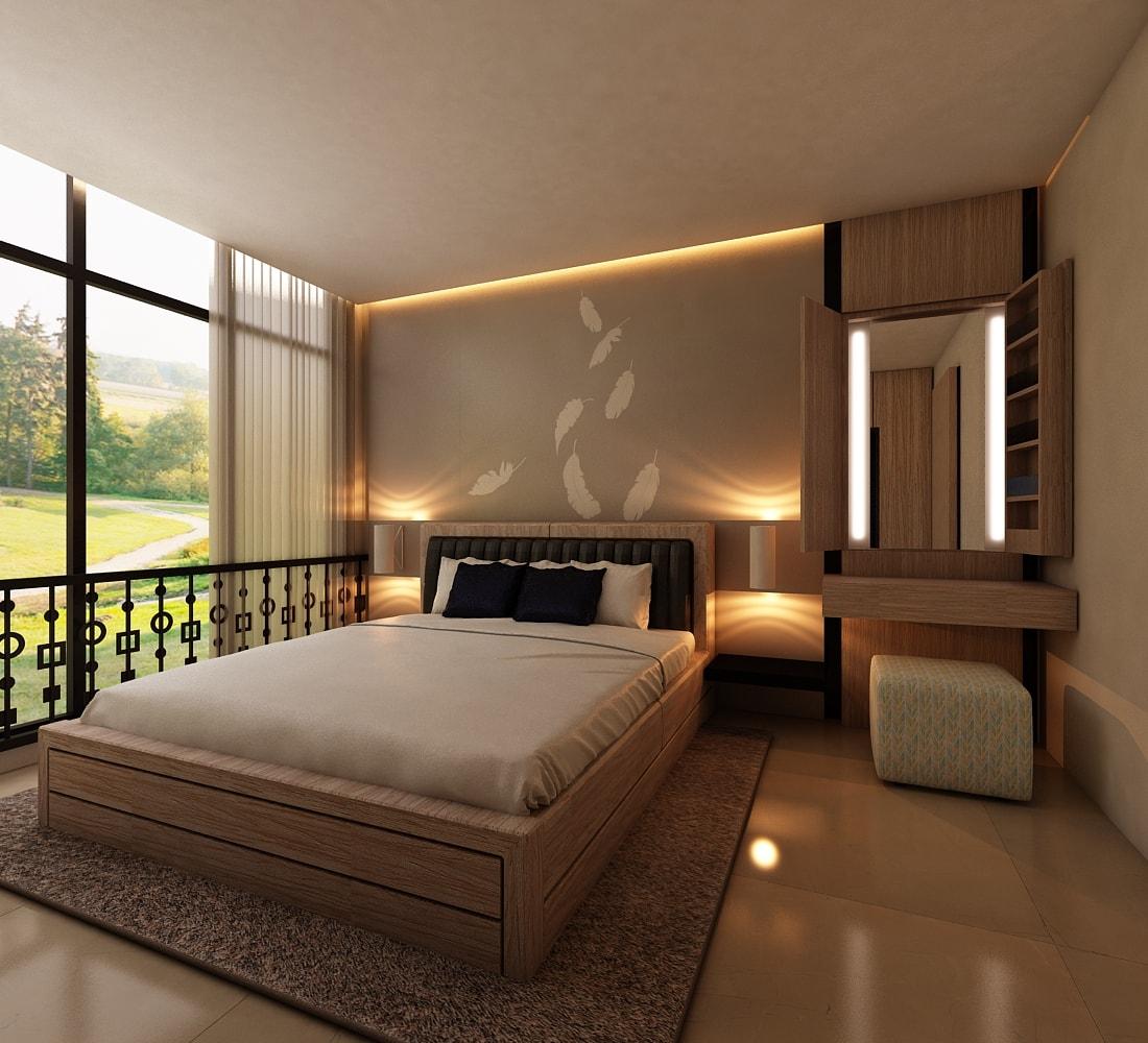 15 Inspirasi Desain Kamar Tidur Minimalis Modern Terbaru 10