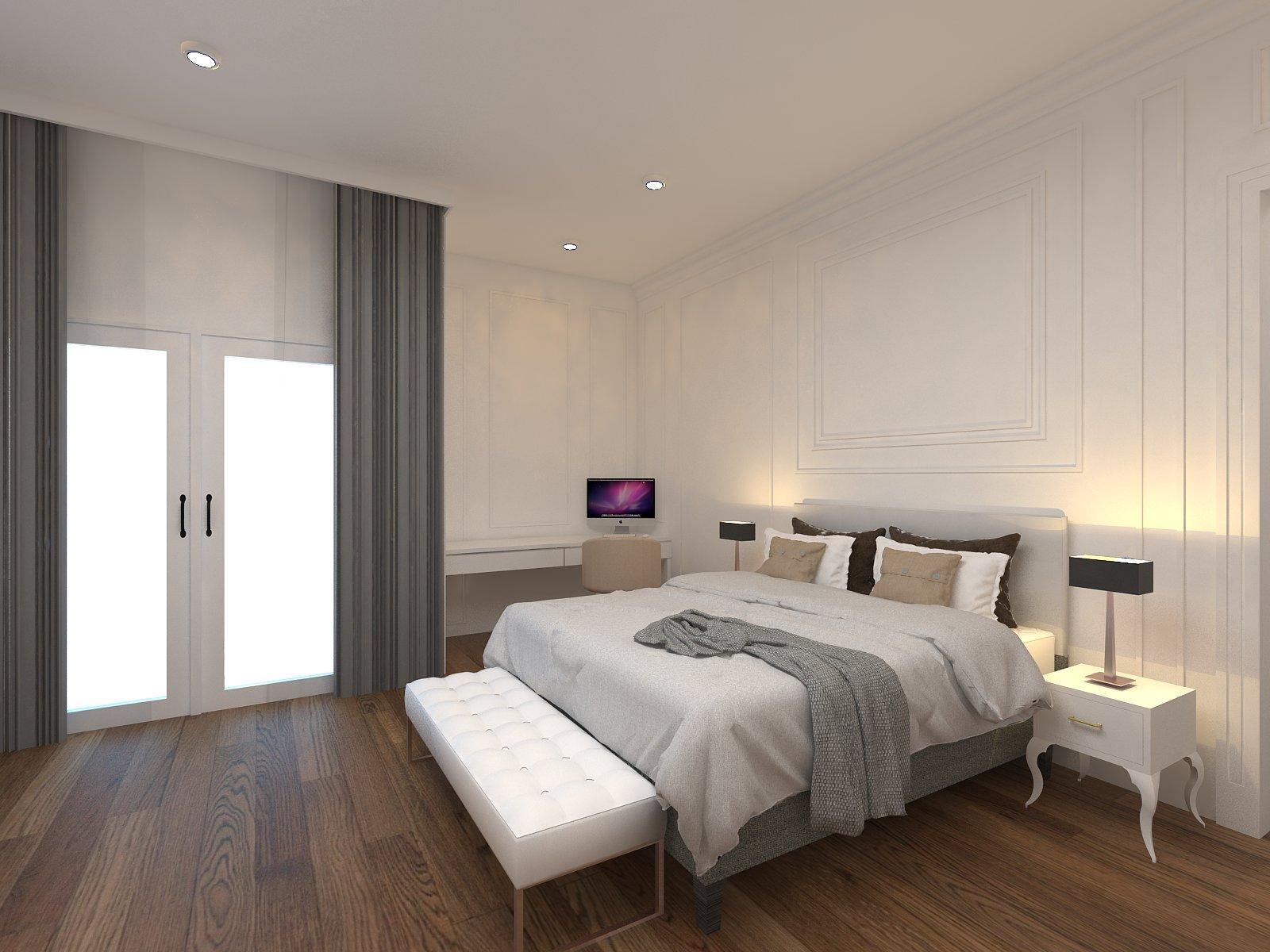 16 inspirasi dekorasi dan desain kamar tidur minimalis | happy living