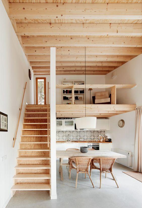 Desain Interior Rumah Panggung Minimalis  20 desain rumah kayu sederhana dan klasik sejasa com