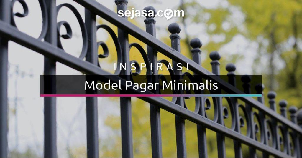 35 Model Pagar Rumah Minimalis Sederhana Dan Elegan Sejasa Com