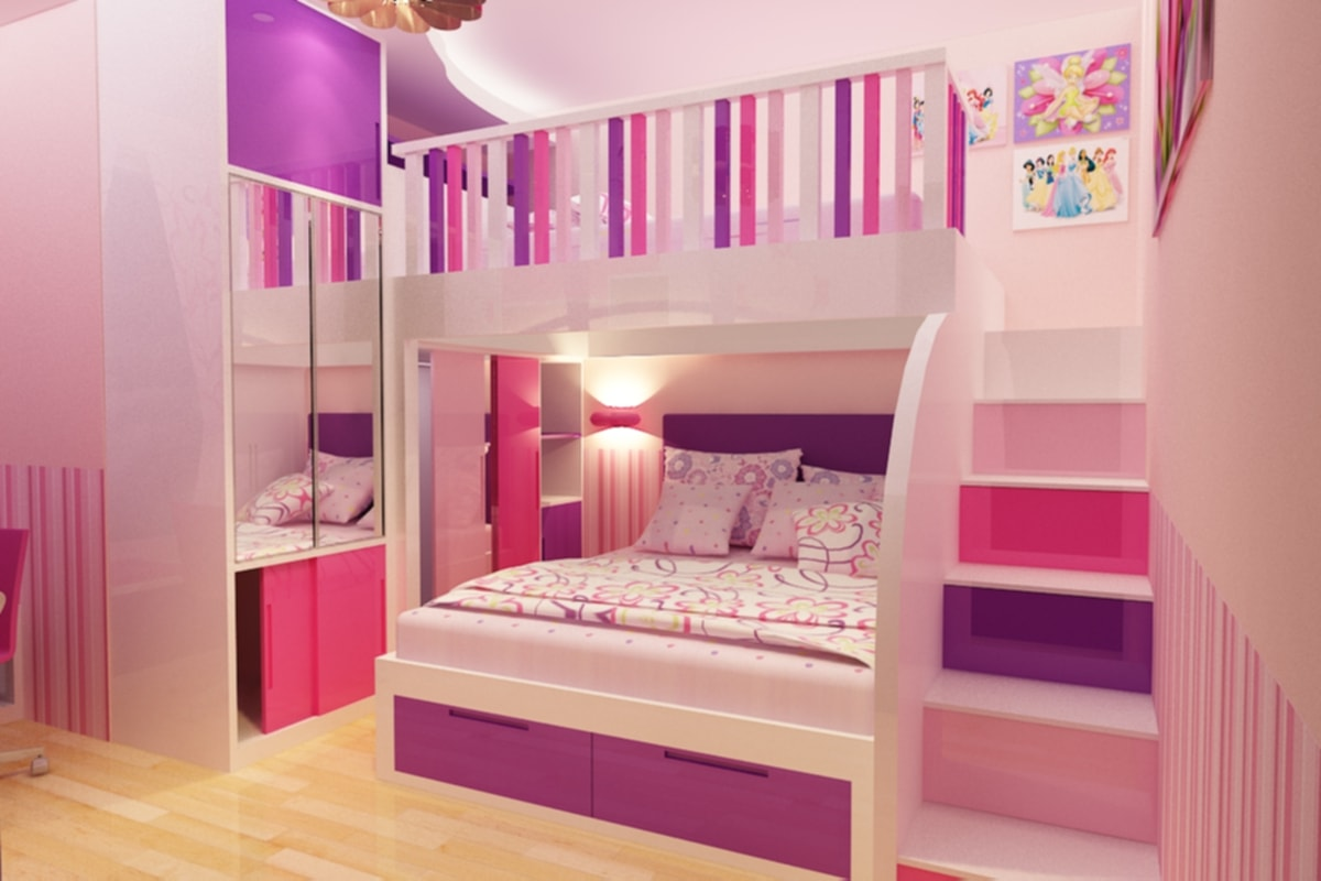 15+ ide kreatif desain kamar tidur anak tersayang | happy living
