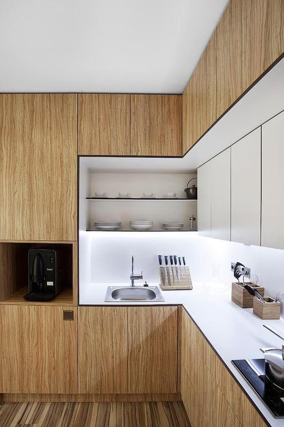 Inspirasi Kitchen Set Minimalis Kunci Dapur Cantik Rapi Sejasa Com