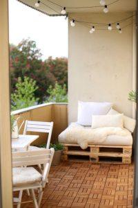 Timber balcony design ari furniture.