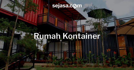 Rumah Kontainer, Solusi Hunian Generasi Milenial!
