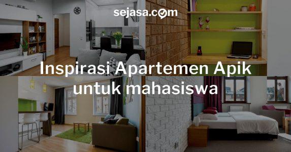 5 Inspirasi Apartemen Apik, Kamar untuk Mahasiswa