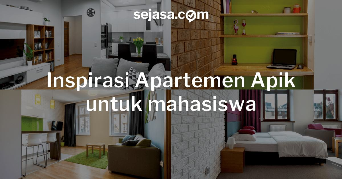 5 inspirasi apartemen apik desain kamar untuk mahasiswa for Design apartemen 2 kamar