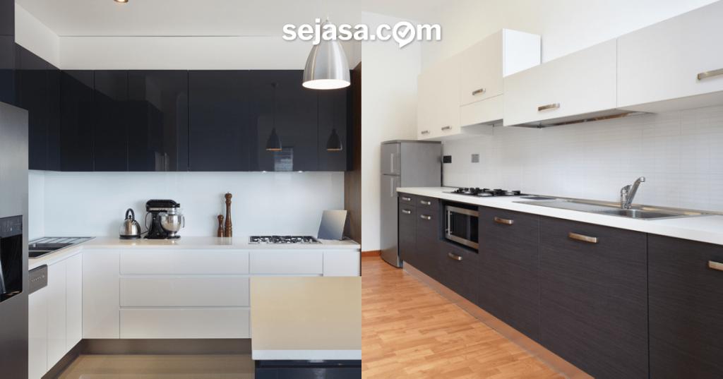 Mengenal Perbedaan Finishing Kitchen Set Hpl Dan Duco