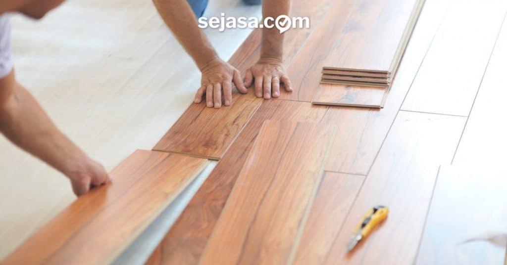 biaya pemasangan dan perbaikan lantai