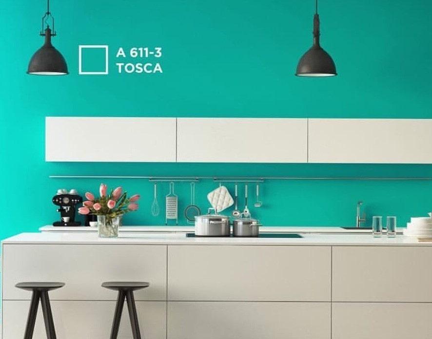 Warna Rumah Minimalis Hijau Tosca