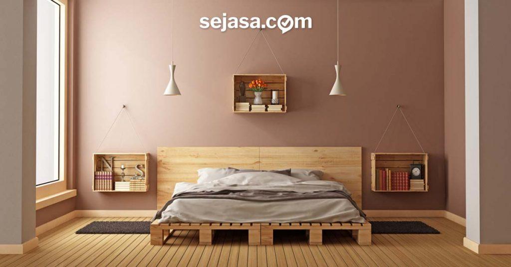 sentuhan warna lembut untuk dinding rumah