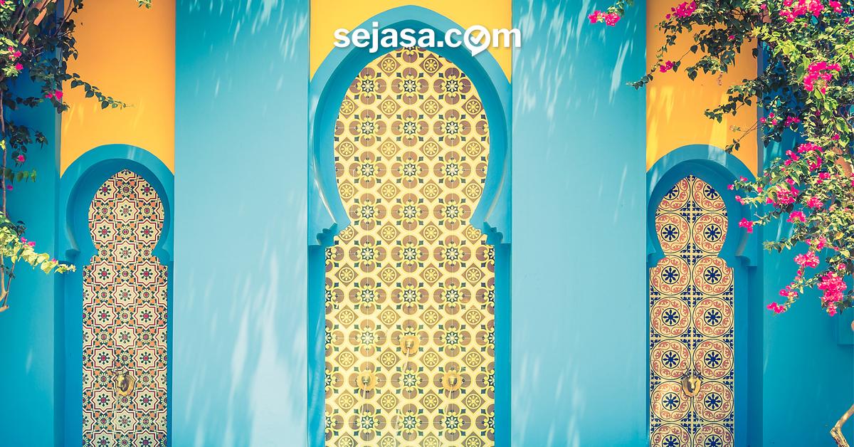 interior gaya maroko