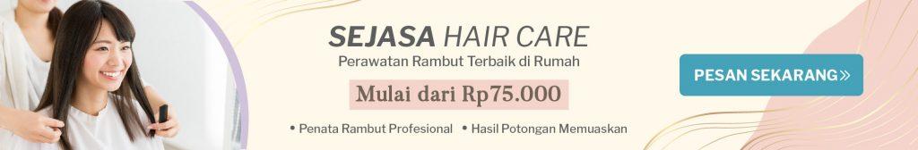 jasa salon panggilan potong rambut creambath sejasa style