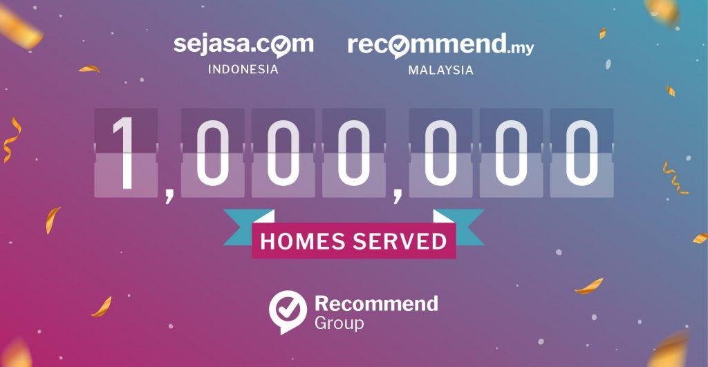 sejasa 1 million homes served break even point